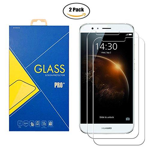 [2 Pack] Protector Cristal Vidrio Templado Huawei G8 / GX8 / G7 Plus / D199 – Pantalla Antigolpes y Resistente al Rayado