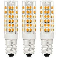 3X Lampadina LED E14,7W Equivalenti a 40 W Lampada Alogena,Bianco Caldo,360 °,Cappa da Cucina LED Non Dimmerabile AC220-240V