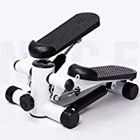 Mini Stepper, Exercise Step Machine Aerobic Fitness Stepper Ropes Entrenamiento W/Cord Arms Leg