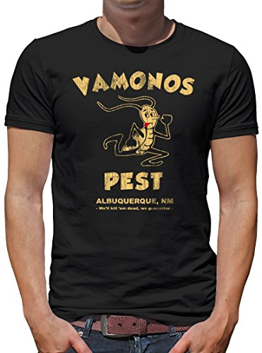 TLM Vamonos Pest T-Shirt Herren XXL (Pinkman Kostüm Heisenberg Und)