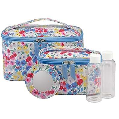Cath Kidston Vanity Case Set Daisy Bed Design Amazon Co