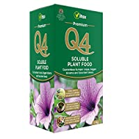 Q4 Vitax Premium Soluble 1kg Plant Food, Brown