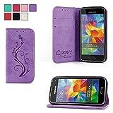 COOVY® Étui pour Samsung Galaxy S5 MINI SM-G800 SM-G800H/DS DUOS...
