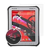 atFolix Schutzfolie passend für Panasonic ToughPad FZ-A1 Folie, entspiegelnde & Flexible FX Bildschirmschutzfolie (2X)