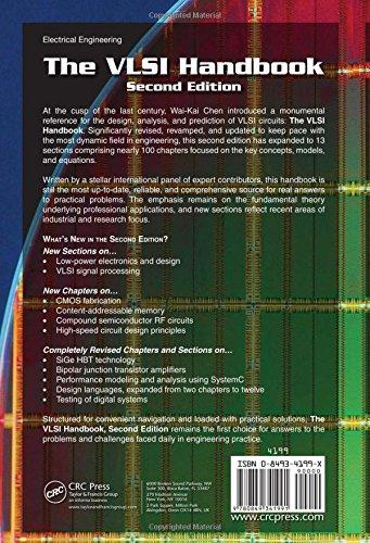The VLSI Handbook (Electrical Engineering Handbook)