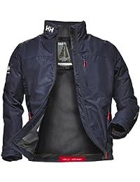Helly Hansen Crew Midlayer Jacket Giacca sportiva Uomo - Blu (Blu (597 Navy) f56fb32d52f