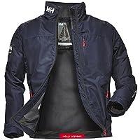 Helly Hansen Crew Midlayer Jacket Giacca sportiva Uomo - Blu (Blu (597 Navy)) - L