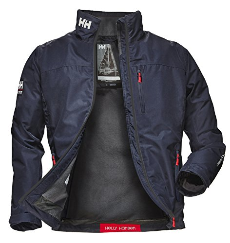 Helly Hansen Crew Midlayer Jacket, Chaqueta Impermeable para Hombre, Color Azul (Azul...