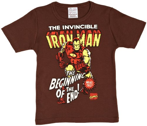 hirt Braun Marrone (Marron (Mustang Brown)) 18 Monate (Iron Man 3 Kostüm Helm)