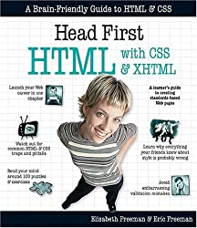 Head First HTML with CSS & XHTML by Elisabeth Freeman (2005-12-01)