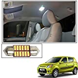 #9: Vheelocityin 12 LED Roof Light Car Dome Light Reading Light For Maruti Suzuki Alto 800