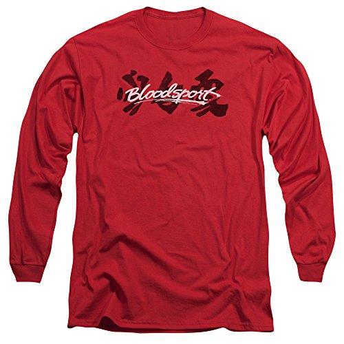 Bloodsport Herren Langarmshirt Rot