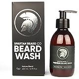 Un soin lavant premium et luxueux pour la barbe, le shampooing pour barbe de Spartan Beard Co. Volume XL de 200 ml. Fabriqué à partir d'ingrédients naturels à 100% pour le meilleur soin possible pour la barbe. Ce shampooing favorise une croissance saine de la barbe.