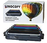 5 SinoCopy XXL Toner für Brother TN-242 TN-246 HL-3142 3152 3172 CW CDW DCP9017CDW - Schwarz je 2.500 Seiten, Color je 2.200 Seiten TN 242 TN-242 TN 246 TN-246