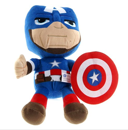 Captain America Plush - Marvel - 25cm 10""