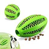 Foonii Hundespielzeug Ball 2 Stück, Hundeball Zahnpflege-Funktion Noppen Hundespielzeug aus Naturkautschuk, Hundespielball für Leckerli Zur Zahnpflege Und Spielspaß (Klein 5cm, Groß 7cm)