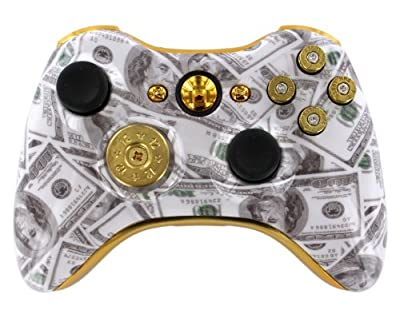 Money Talks 9mm Xbox 360 Custom Modded Controller
