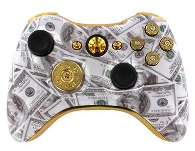 Money Talks 9mm Xbox 360 Custom Modded Controller