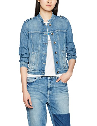 Marc O´Polo Denim Damen Jeansjacke 743914025039, Mehrfarbig (Combo P20), Small