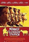 Männer, die auf Ziegen Starren: B (2009) | original Filmplakat, Poster [Din A1, 59 x 84 cm]