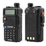 Baofeng UV-5R 136-174/400-480 MHz Dual-Band DTMF CTCSS DCS FM Ham Two Way Radio Bild