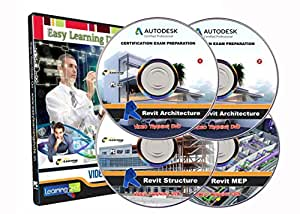 Revit 2016 (Architecture,Structure, MEP) Tutorial Video Training on 4 DVDs