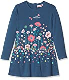 Bóboli Mädchen Kleid Knit Stretch Dress For Girl, Blau (Atlantic 2388), 110
