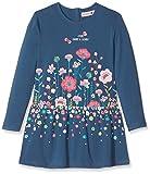 Boboli Mädchen Kleid Knit Stretch Dress for Girl, Blau (Atlantic 2388), 128