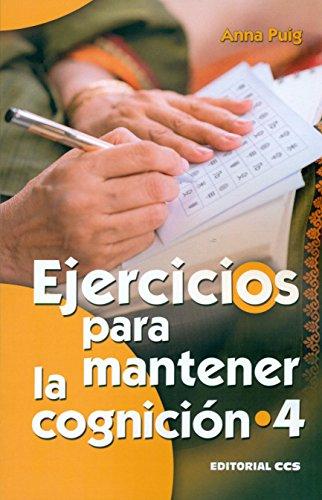Ejercicios para mantener la cognición 4 (Mayores) por Anna Puig Alemán