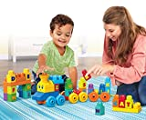Mega Bloks the Alphabet Train 50 Pieces, Multicolored, FWK22