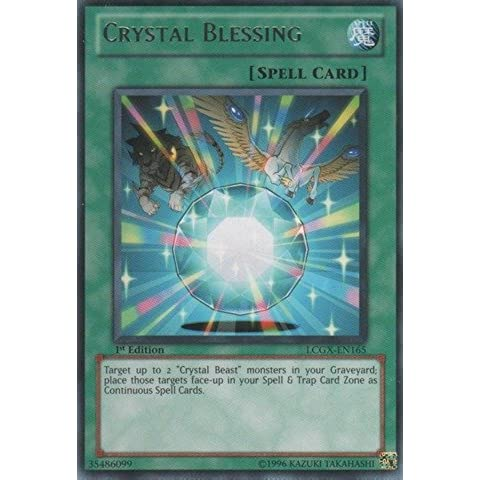 Yu-Gi-Oh! - Crystal Blessing (LCGX-EN165) - Legendary Collection 2 - 1st Edition - Rare by Yu-Gi-Oh!