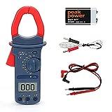 POWERAXIS Clamp Meter, 2000 Counts Digital Clamp Meter Advanced Auto Range Multimeter