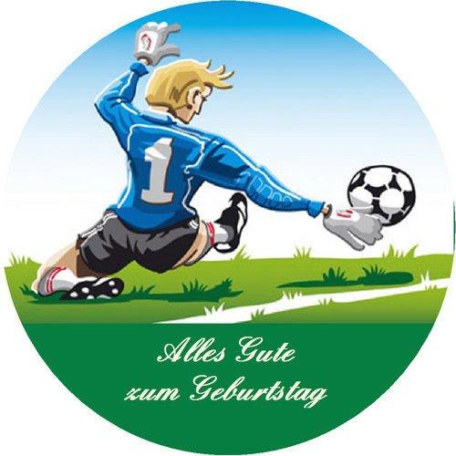 Tortenaufleger Fussball 03