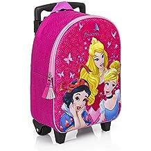 cc32b98598 Principesse Disney zainetto zaino Trolley in 3D Scuola Materna Asilo  Escursioni Tempo Libero