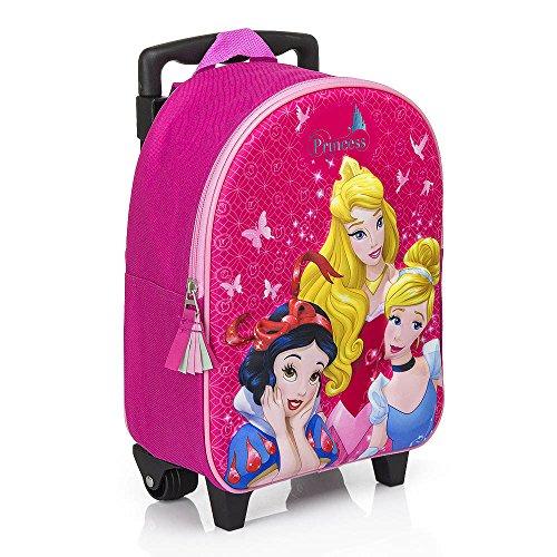 Principesse disney zainetto zaino trolley in 3d scuola materna asilo escursioni tempo libero
