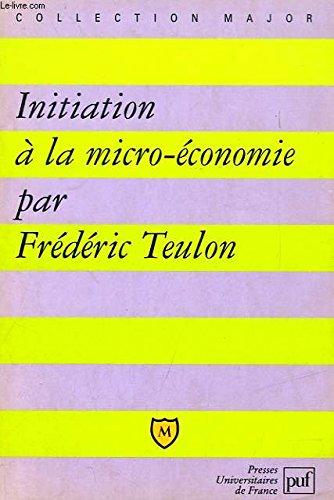 Initiation à la micro-économie
