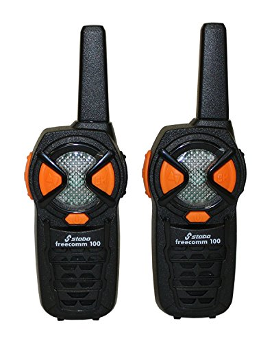 Stabo Elektronik - Walkie Talkies Frecomm 100, cubre hasta 10 km (20100) (importado)