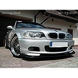 BMW 3 Serie E46 Sedán/ Familiar Spoiler delantero Alerón Spoiler M Paquete Top Tuning