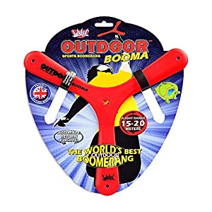 Toy Partner- Wicked Outdoor booma, Color Rojo/Amarillo/Azul (94002)