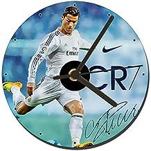 Cristiano Ronaldo Real Madrid CR7 Reloj CD Clock 12cm