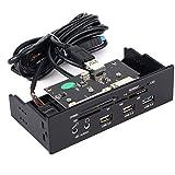 EasySMX USB Panel Frontal Multifuncional 5.25