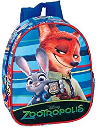 Preisvergleich für Disney 28cm Pixar Zootropolis Badge Junior-Rucksack (Blau)