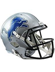 NFL Full Size Casco/Helmet Football Speed Réplica Detroit Lions