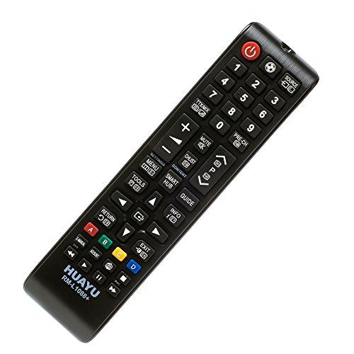 iprotect Universal- und Ersatzfernbedienung mit Einstellbarer Fußball-Taste für Samsung LED/LCD/HD-TV mit 3D-Funktion – Ohne vorherige Einrichtung Sofort einsetzbar
