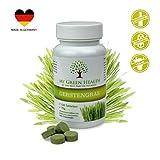 Superfood Gerstengras Tabletten mit Vitamin C, Calcium und Zink 120 Tabs vegan