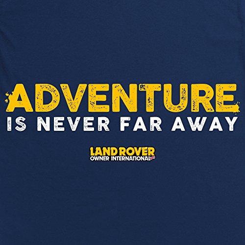 LRO Adventure T-Shirt, Herren Dunkelblau