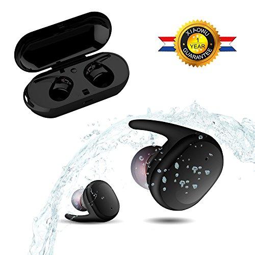 Bluetooth auriculares, Xiaowu inalámbrica Bluetooth auriculares con micrófono cancelación de ruido auriculares...