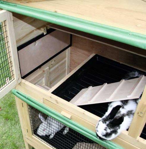 Kaninchenstall Appartement von Kerbl – ein durchdachtes Stallkonzept (doppelstöckig) - 5