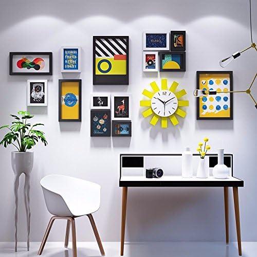 WUXK Creative Personalizzate orologio da Parete Photo Frame Parete Parete Parete Parete Minimalista Combinazione Living Room Decor a Parete Foto 7 b81a54
