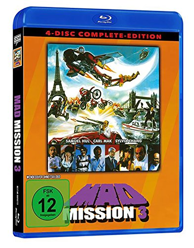Mad Mission 3 - Uncut - 4 Disc Complete-Edition (2 BDs + 2 DVDs) [Blu-ray]
